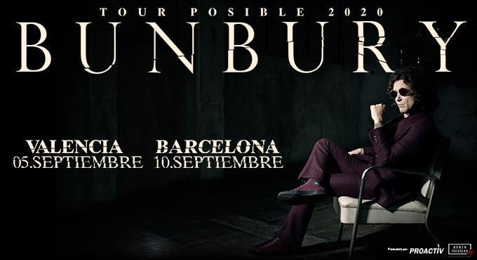 Bunbury Tour Posible 2020