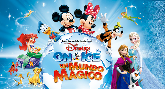 Disney On Ice - Un Mundo Mágico