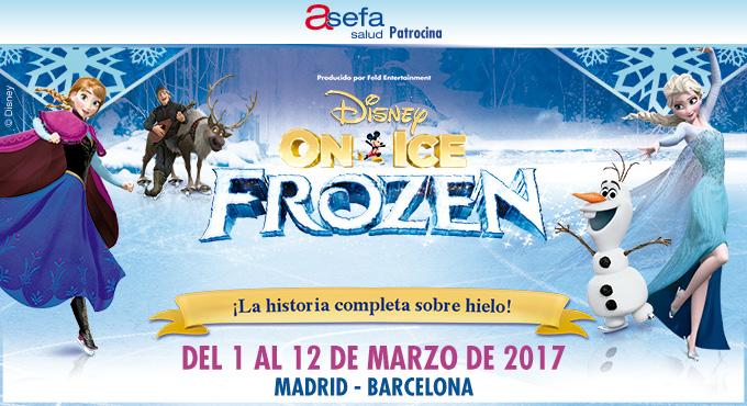 Disney on Ice Frozen Madrid y Barcelona