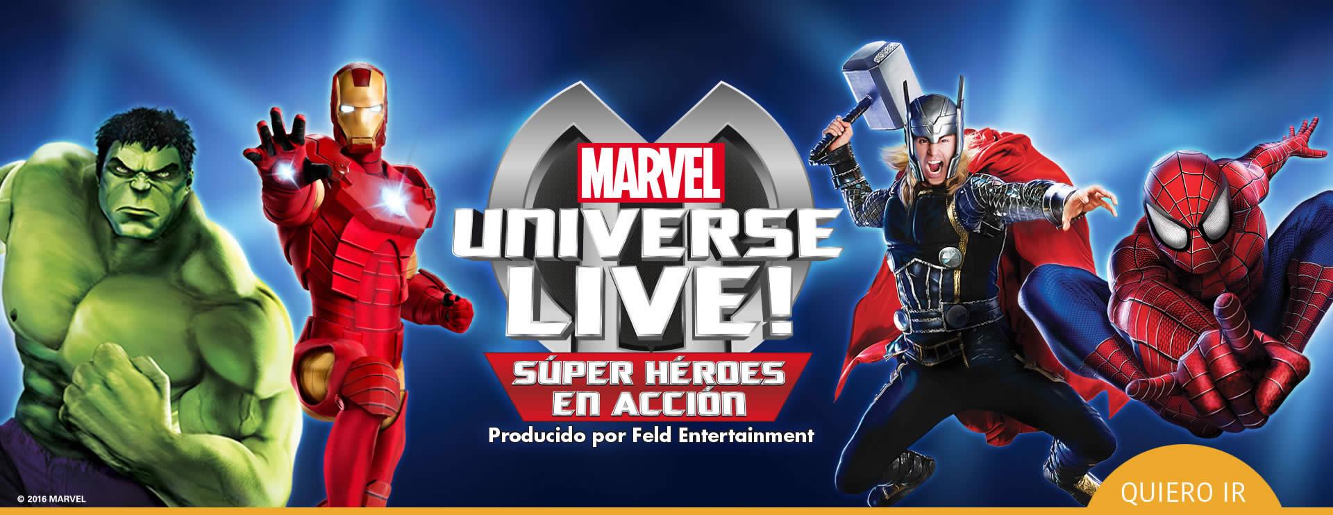 El universo Marvel