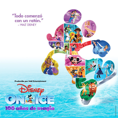 Disney On Ice 100 años de magia