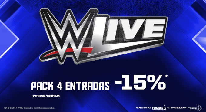 WWE LIVE Desceuntos