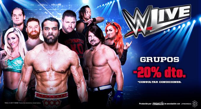 Precio 25 WWE Spain 2017